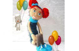Lalka Szydełkowa handmade dla dziewczynki