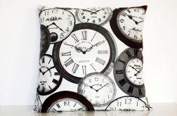 Zegary - poduszka Canvas