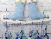 Kalendarz adwentowy - niebieski
