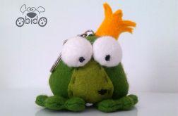 brelok żabi książę