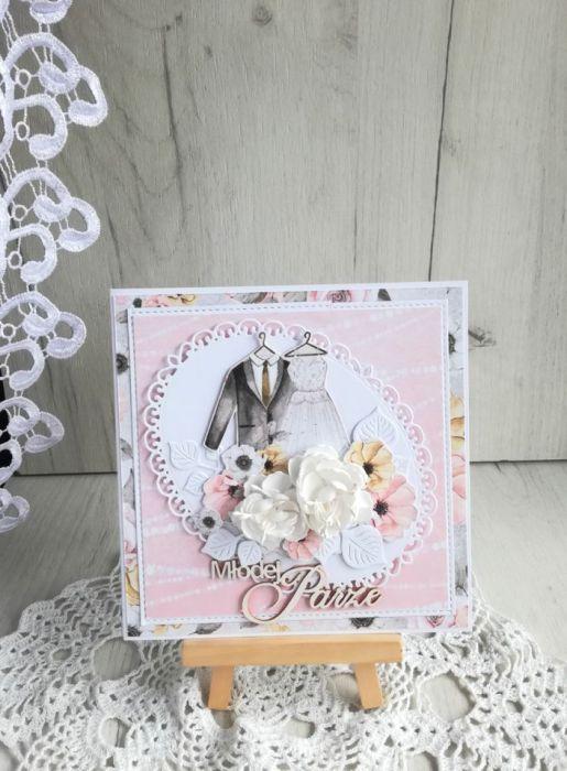 Kartka ślubna w pudełeczku Marry Me 2