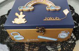 Pudełko skrzynka na zdjęcia drobiazgi
