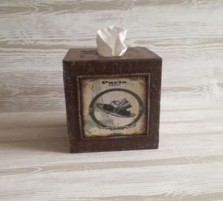 Chustecznik dla DAMY - Ręcznie zdobiony chustecznik