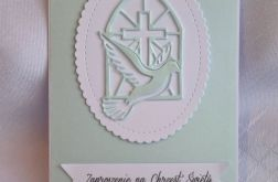 Zaproszenie na uroczystość Chrztu Św. w6