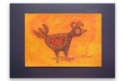 Ptaszek 23 - rysunek dekoracyjny