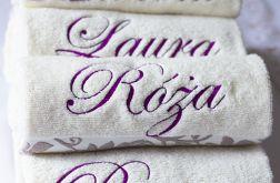 Haftowany ręcznik z imieniem