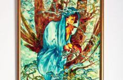 obrazy,,Alegoria cztery pory roku''-ręcznie malowane
