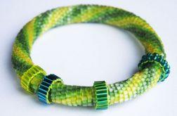 Green snake bransoletka