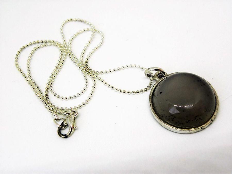 GREY - kamień naturalny - naszyjnik