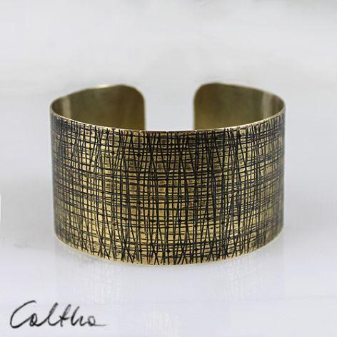 kora - mosiężna bransoleta 140319-01