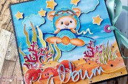 Album dla dziecka z misiem