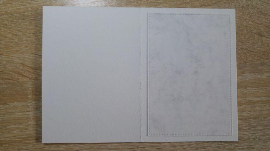 Kartka z wesołym bałwankiem