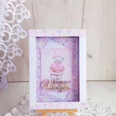Kartka 3D Urodzinowa Daddy's Princess GOTOWA