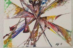 Obraz abstrakcja 40x50
