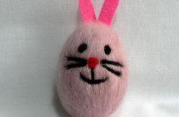 Filcowany królik (6cm) (07)