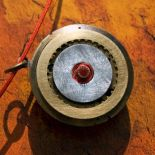Naszyjnik steampunk'owy w kolorze starego złota