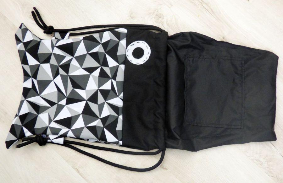 Worek /plecak Workoplecak Ryba - plecak ryba podszewka