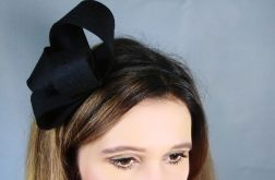 Fascynator czarny, 13cm