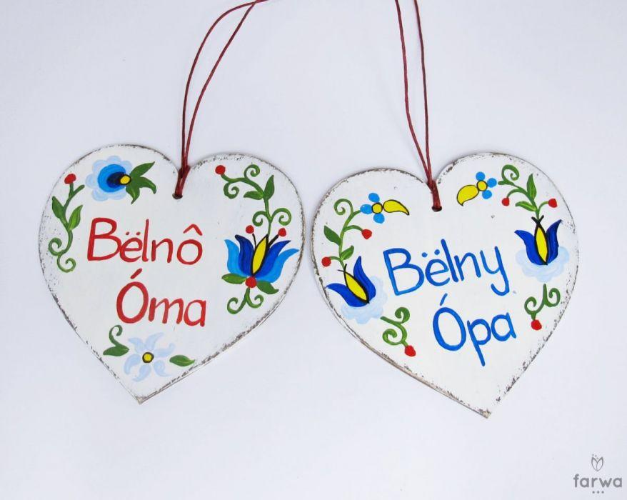 """Serduszko dla Dziadka """"Bëlny Òpa"""" - Super Dziadek"""