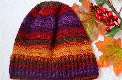 szydełkowa czapka z dziurą