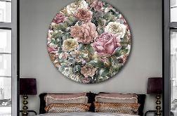 Botanika - Obraz na okrągłej ramie
