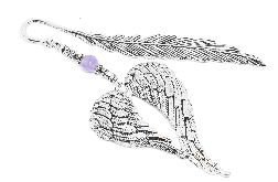 ZAKŁADKA DO KSIĄŻKI skrzydła ANIOŁA jadeit
