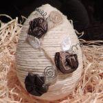 Jajo w cudnych zdobieniach