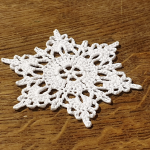 śnieżynka gwiazdka ozdoba choinkowa 3 sztuki