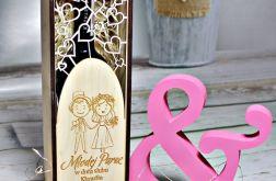 PUDEŁKO alkohol SKRZYNKA wino GRAWER prezent