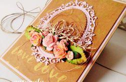 Kartka ślubna w pudełku nr 12