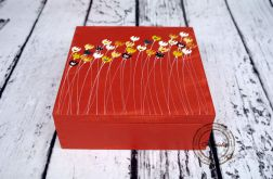 pudełko duże tulipany
