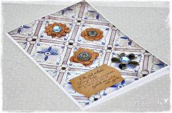 Ślubny Vintage - kartka dla Młodej Pary