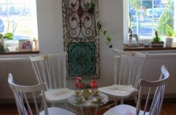 Komplet krzeseł prowansalskich