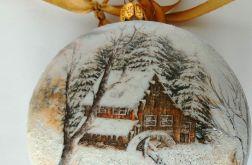Bombka Zimowy pejzaż