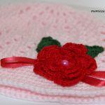 Różowy kapelusik -