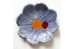 Podstawka ceramiczna kwiat 17