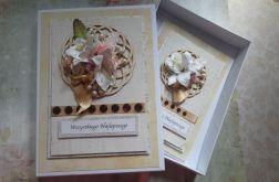 Pudełko i kartka, ślub, Dzień Matki, inne