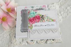 Ślubna kartka w pudełku 138