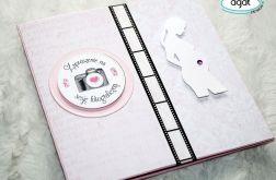 Zaproszenie na sesje ciążową - GIRL 1