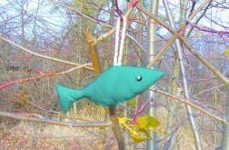 Rybka zielona-zawieszka dekoracyjna