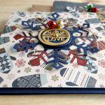 Kartka świąteczna ŚNIEŻYNKA SHAKER #2 - Detal1