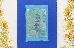 Kartka świąteczna minimalizm 31