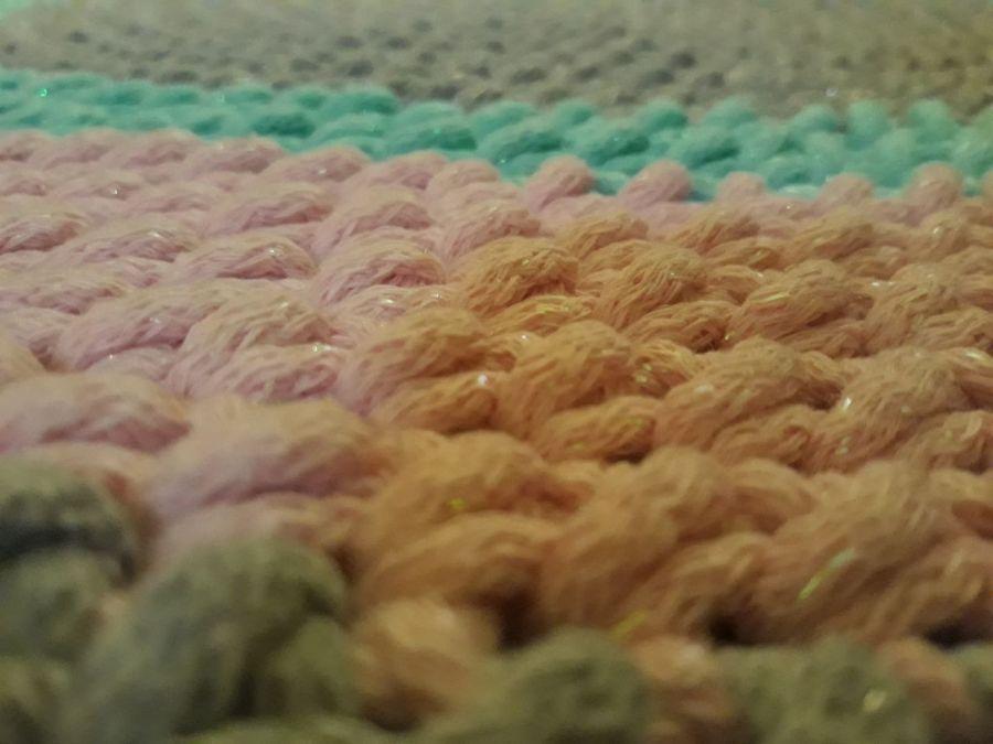 Dywan ze sznurka 85 cm sznurkowy dywan - Delikatnie się mieni