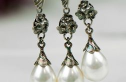 Srebrny komplet z perłami Seashell Liliana