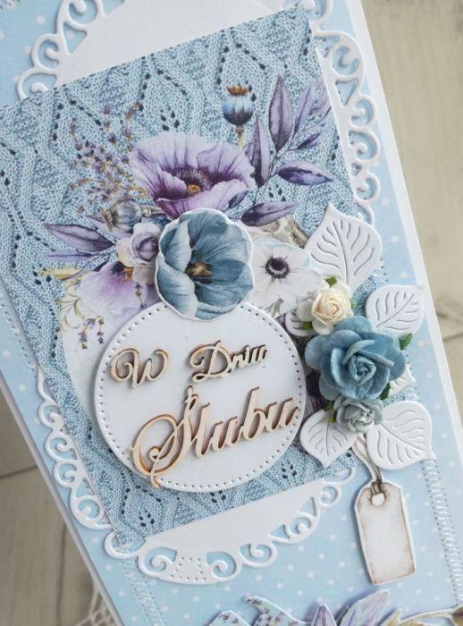Kartka ślubna DL w pudełeczku GOTOWA