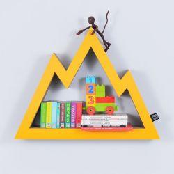 Półka na książki zabawki GÓRY | żółty