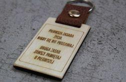 Brelok do kluczy z indywidualnym tekstem