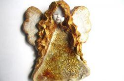 Anioł ceramiczny Basia 34 chrzest ślub