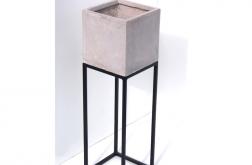 Kwietnik betonowy stal loft BetA