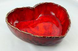 Ceramiczna misa serce
